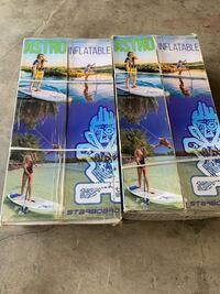 2 set of Inflatable stand up paddle board