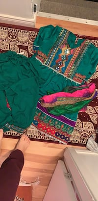 Afghani dress for kid 6 to 8 years old  793 km