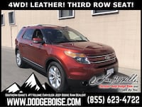 2014 Ford Explorer Limited 4WD LEATHER! THIRD ROW SEAT! Boise