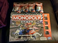 Monopoly Mario Gamer Edition with 4 power packs Charlotte, 28214