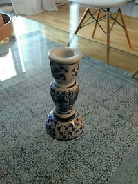 """Ceramic made in canada Candle holder 5.10"""" Laval, H7R 5X3"""