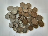 Very rare Old 1 Rupee Indian Coins Sets Ankleshwar