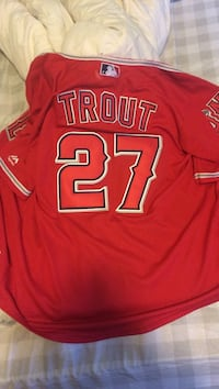 Boys large trout jersey