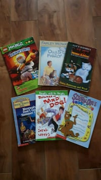3 lots of chapter books