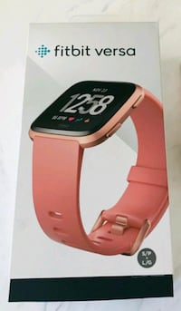 Fitbit Versa brand new Factory sealed peach/Rose Gold  Toronto