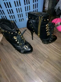 black studded boots Winnipeg