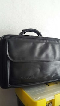 laptop bag in pelle nera Turin, 10152