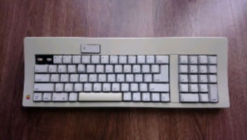 Apple Computer Keyboard M0116 Macintosh Klavye Mac Bilgisayar