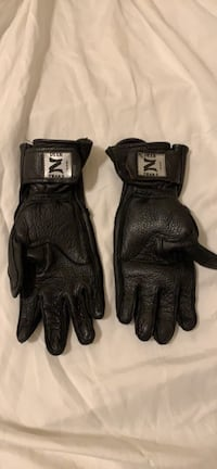 Women's motorcycle leather glove