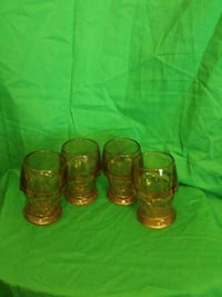 Amber drinking glasses  Harker Heights, 76548