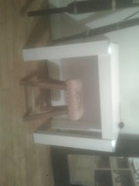 Console table extensible 2m30 blanche neuf
