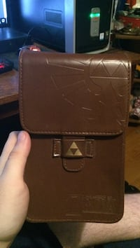 Nintendo DS/3ds leather legend of Zelda carrying case + hurdle map cleaning pad  Chuckey, 37641