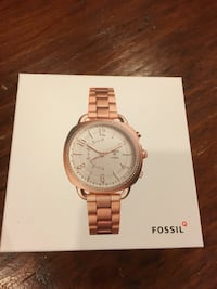 Women's Fossil Q Hybrid Smart watch Silver Spring, 20906