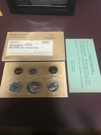 1958 US Mint proof coin set