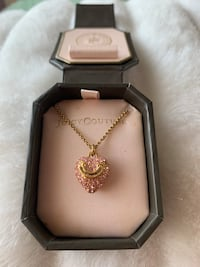 Juicy Couture Pavé Puffed Heart Necklace North Vancouver, V7L 4C2