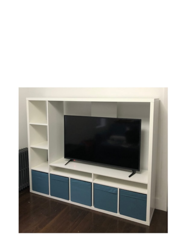 Ikea Lland Tv Storage Unit White
