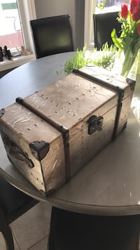 Tin plated Chest.