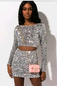 Two piece skirt set