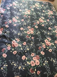 black, pink, and green floral bed mattress Great Falls, 22066