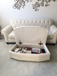Sofa and Ottoman  Bel Air, 21015