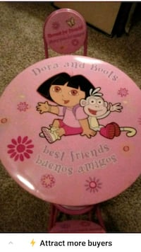 Dora & Boot Table & Chairs