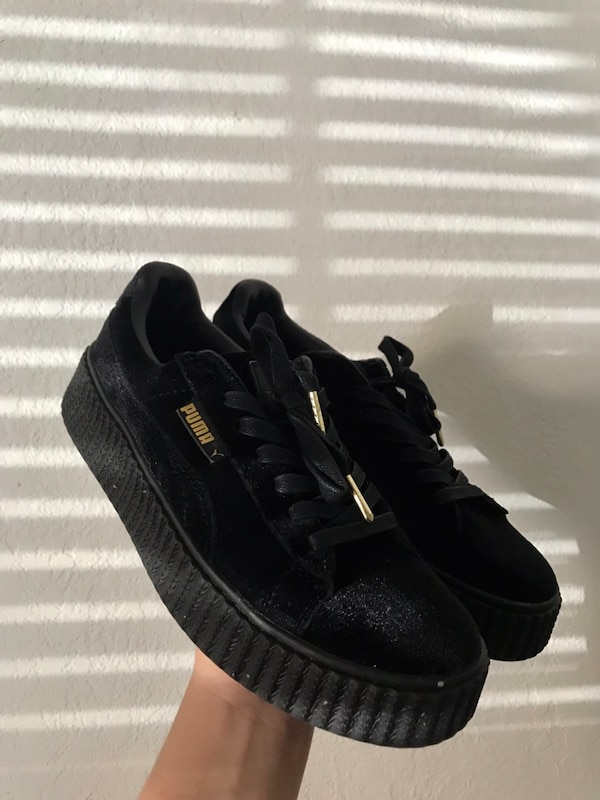 newest collection fa8f6 10265 Fenty Puma Creeper in Velvet