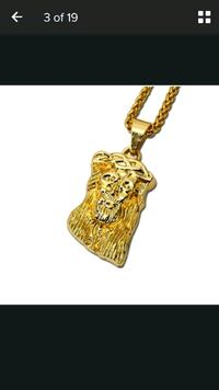 """14k gold plated necklace 30"""" long"""