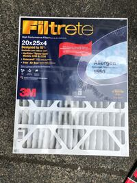 Filtrate - High Performance Filter (20X25X 4) Issaquah, 98029
