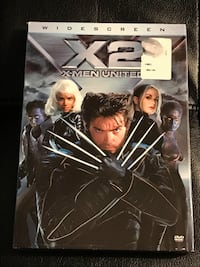 X2  X-Men United Widescreen (Still factory sealed).