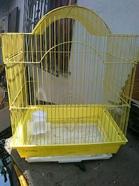 yellow and white metal birdcage Ontario, 91764