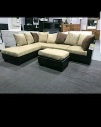 Sectional with free ottoman, brand new Baltimore, 21209
