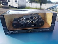 black hot wheels batmobile