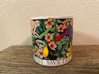 Save the rainforest Mug 90s Vintage Edinburg, 78541