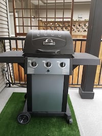 black and gray gas grill Surrey, V3W 1Y7
