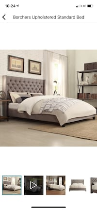 Borchers Upholstered Queen Bed