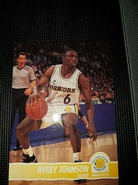Avery Johnson collectible card Suffolk, 23434