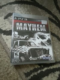 ps3 mayhem game Newburgh, 47630