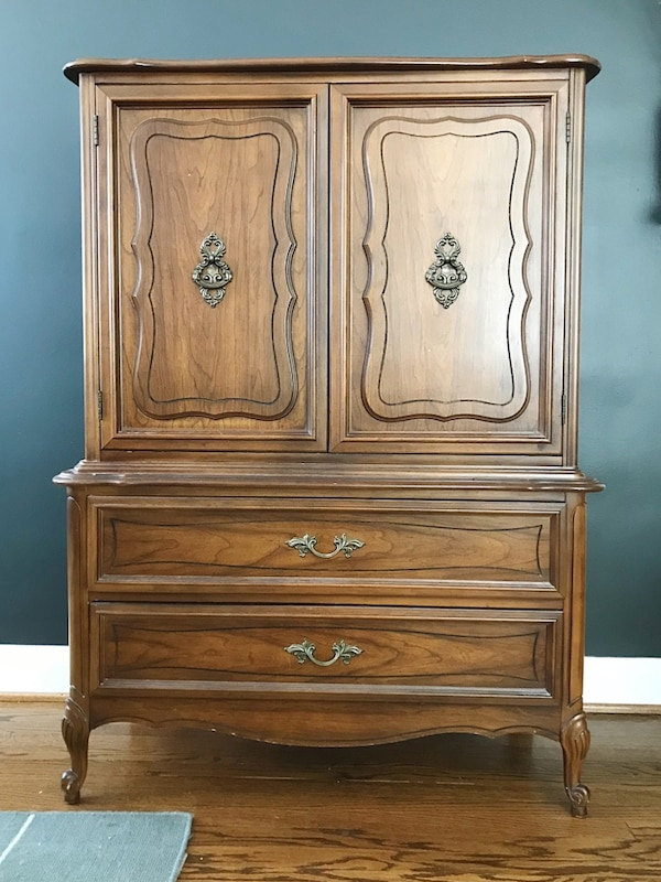 Vintage Dixie Tall Cest of Drawers