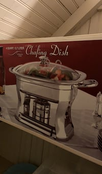 Chafing dish 4qt $25 Brookeville, 20833