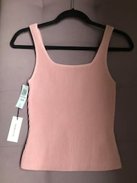 Aritzia Babaton Sculpt Knot Top Size Small Surrey