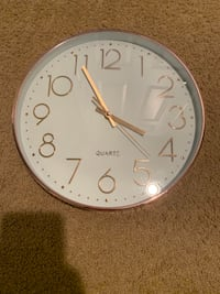 Rose gold clock  Bensville, 20603