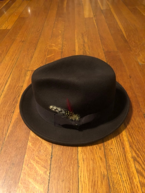 Jaxon hat paid $50 size Large. Excellent condition 100% wool Worn once