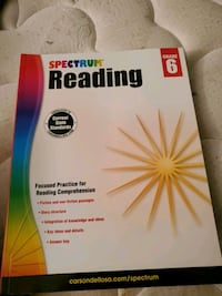 Spectrum Reading For 6th Grade