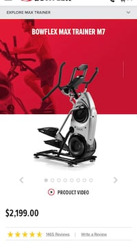 Black and gray elliptical trainer Winchester, 22602