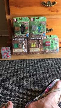 Assorted plastic toy collection in box St Catharines, L2S 1T2