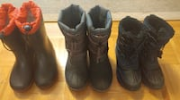 Geox, Firefly and Snowslide Boots for boys, size 3 $15.00 TORONTO