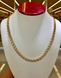 14k solid Gold Chino links ,double O Houston, 77072