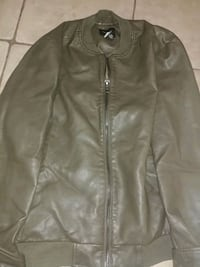 Size small mens leather coat