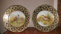 Antique hand-painted plates from Nippon (Japan)  La Mesa, 91941