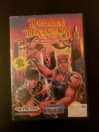 Double Dragon 3 the Arcade game for Genesis  Vaughan, L4L